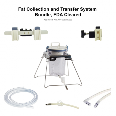 Fat Collection and Transfer System Bundle, FDA Cleared Fat Collection and Transfer System Bundle, FDA Cleared